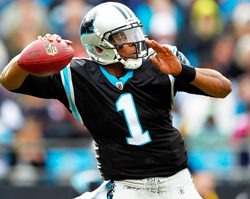 Cam Newtown Football Betting at BetAnySports - Panthers Ready to Let Starters Roll