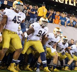 College Football Betting -- Notre Dame Back in Action and Curious About #10 Spot